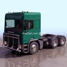 三维小货车3d模型下载