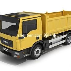 东风卡车3d模型下载