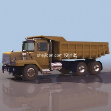 重型卡车3d模型下载