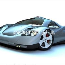 汽车灯泡3d模型下载