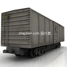 一节火车3d模型下载