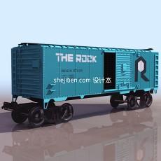 火车3d模型下载