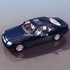 小汽车3d模型下载