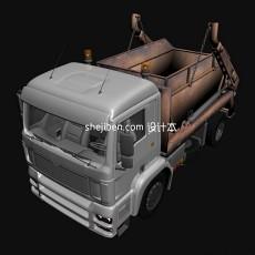工程车3d模型下载