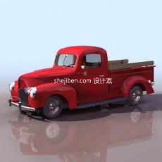 福特汽车3d模型下载