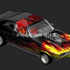 机动车辆3d模型下载