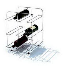 红酒瓶铁艺酒架3d模型下载