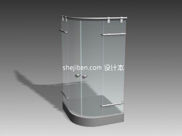淋浴间模型