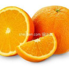 橙子水果食品3d模型下载