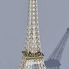埃菲尔铁塔3d模型下载