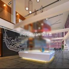售楼部室内3d模型下载