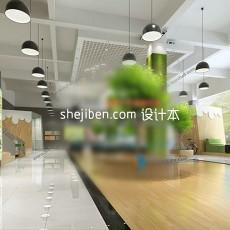 办公室3d模型下载