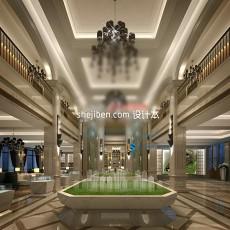 售楼部展厅3d模型下载