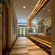 欧式酒店3d模型下载