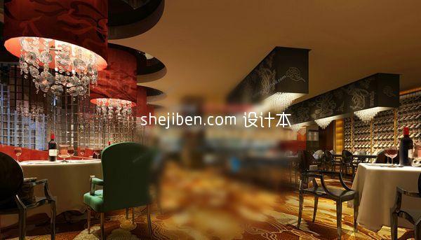东南亚风格餐饮3d模型下载