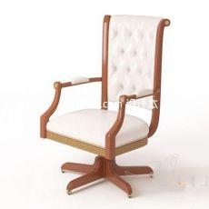 欧式老板椅3d模型下载