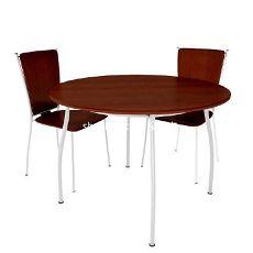 现代实木洽谈桌椅3d模型下载