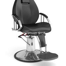 扶手升降理发椅3d模型下载