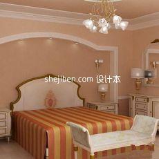 简单卧室3d模型下载