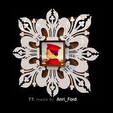 装饰花纹艺术画框3d模型下载