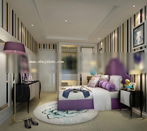 女孩房卧室