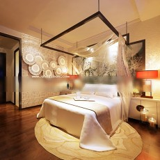东南亚卧室3d模型下载