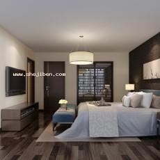 卧室853d模型下载