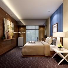卧室0283d模型下载