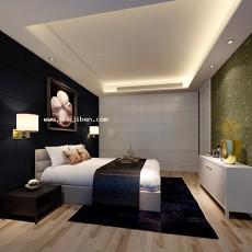 卧室1483d模型下载