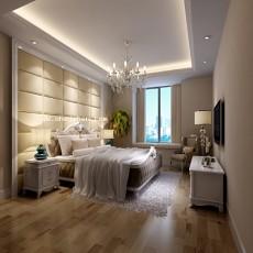 简约卧室灯光3d模型下载