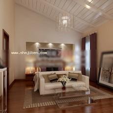 卧室1743d模型下载