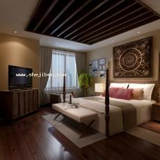 卧室803d模型下载