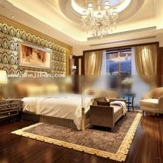 卧室3d模型下载