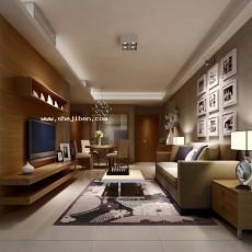 室内家居客厅3d模型下载