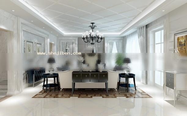 黑白家装客厅