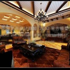 整体客厅3d模型下载