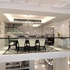 餐厅1233d模型下载