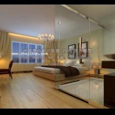 卧室3273d模型下载