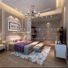 卧室3073d模型下载