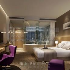 卧室3753d模型下载