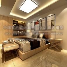 卧室3013d模型下载