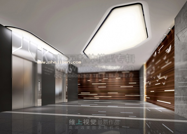 电梯口走廊