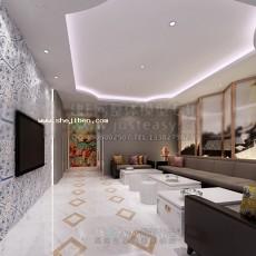 酒店包房3d模型下载