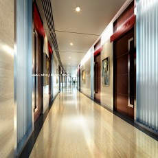 宾馆走廊3d模型下载
