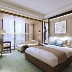 酒店套房3d模型下载