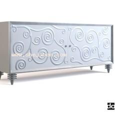 欧式电视柜家具3d模型下载