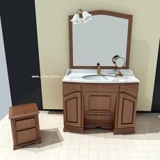 洗手台3d模型下载