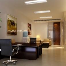 小办公室3d模型下载