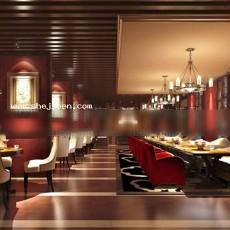 西餐厅3d模型下载