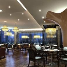 餐饮空间3d模型下载